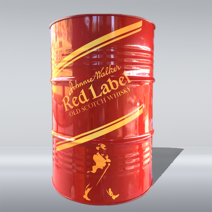 BARRIL DECORATIVO | JOHNNIE WALKER  RED LABEL | 200 LITROS