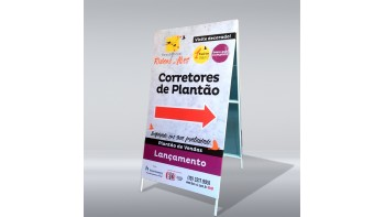 Frente e Verso (2 Faces) +R$150,00