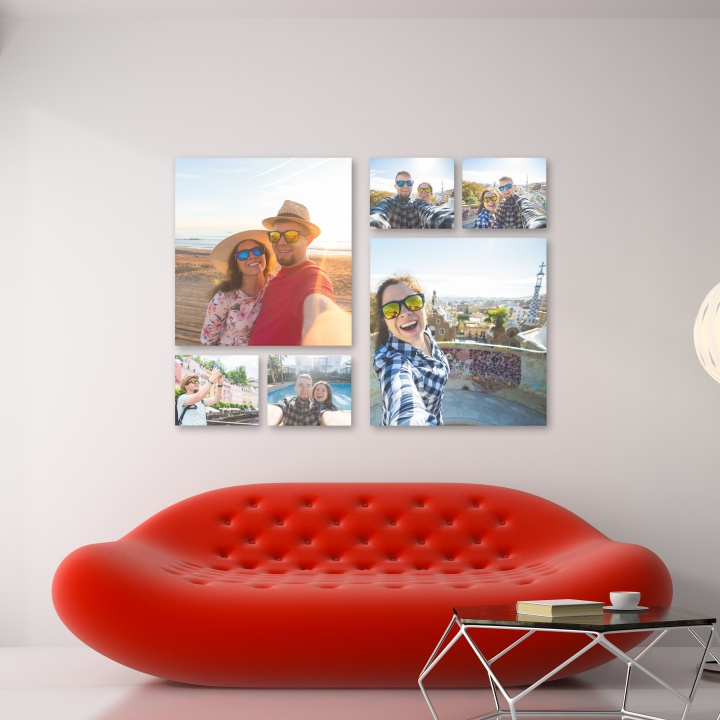 QUADROS DECORATIVOS | KIT COM 6 UN.