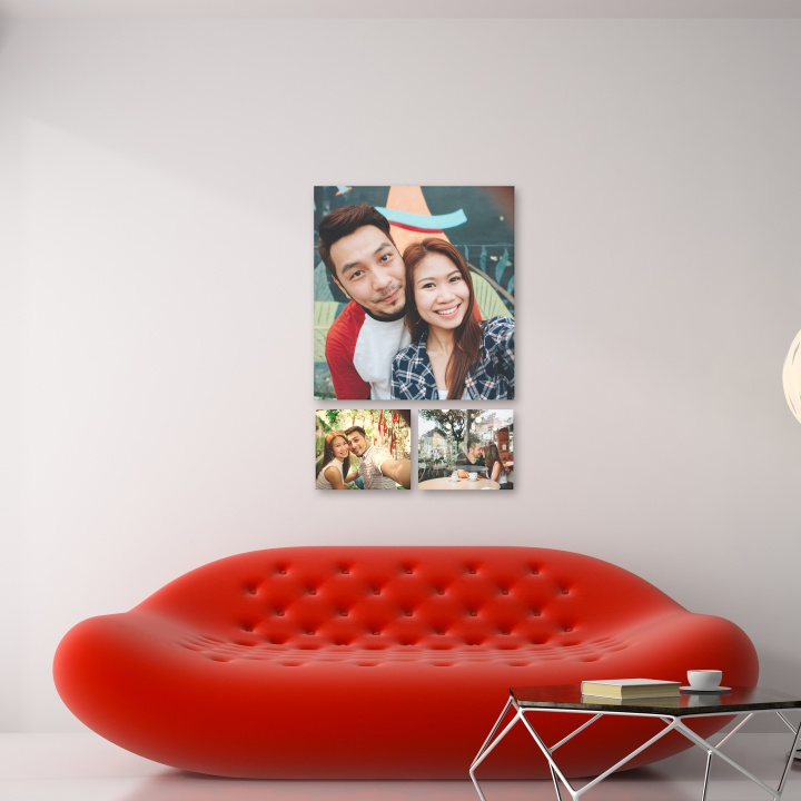 QUADROS DECORATIVOS | KIT COM 3 UN.