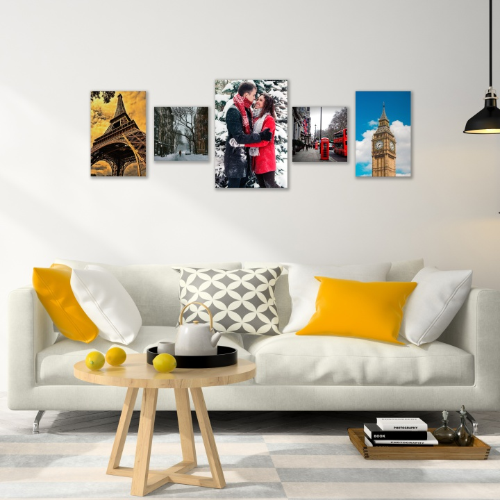 QUADROS DECORATIVOS | KIT COM 5 UN.